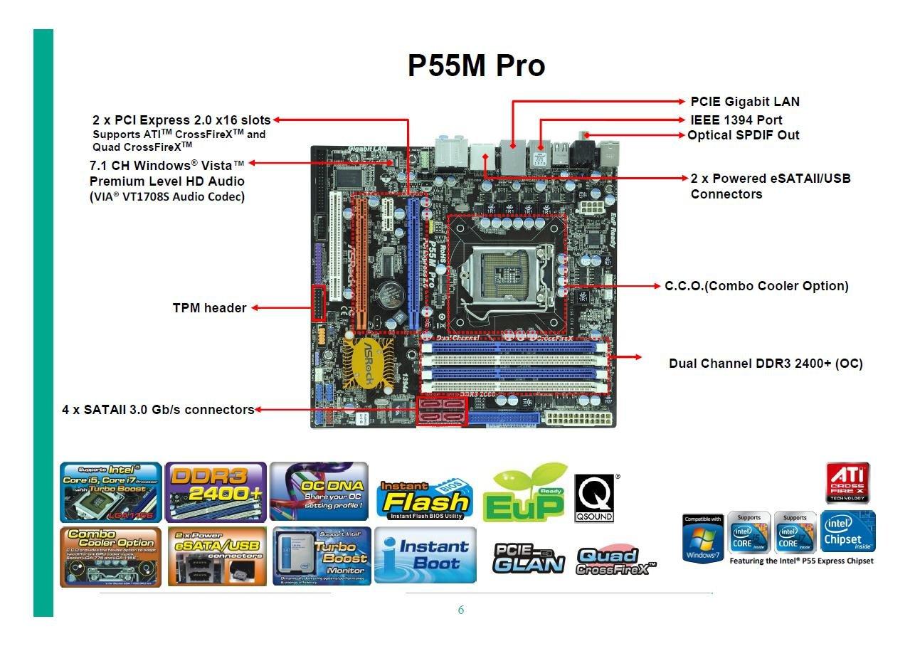 ASRock P55M Pro