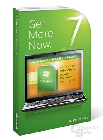 Windows 7 Upgrade Starter auf Premium