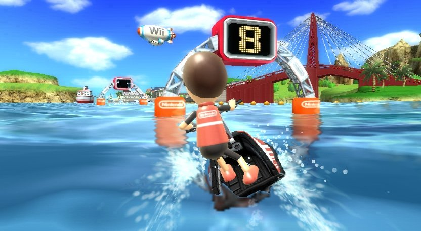 Wii Sports Resort - Jetboot