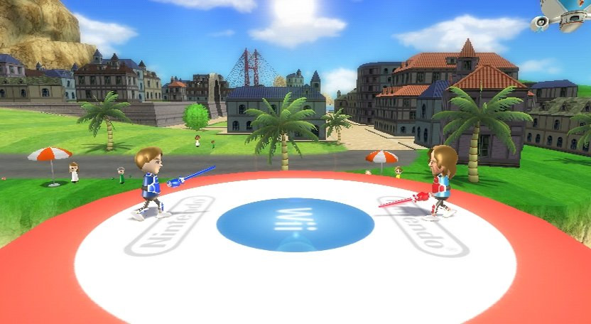Wii Sports Resort - Schwertkampf