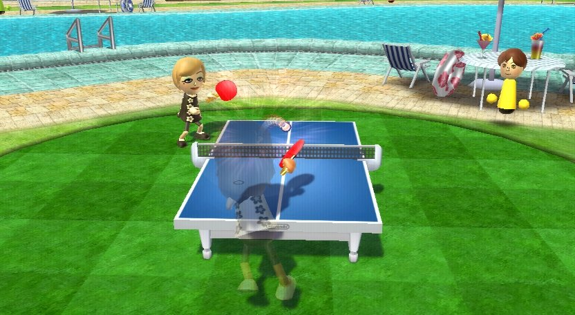 Wii Sports Resort - Tischtennis
