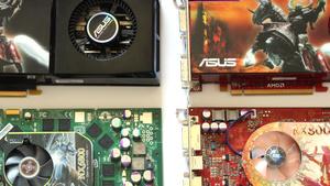 ATi gegen Nvidia: 14 Grafikkarten verschiedener Baujahre im Vergleich