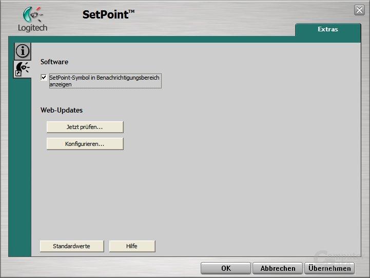 Logitech SetPoint Installation - Web-Updates