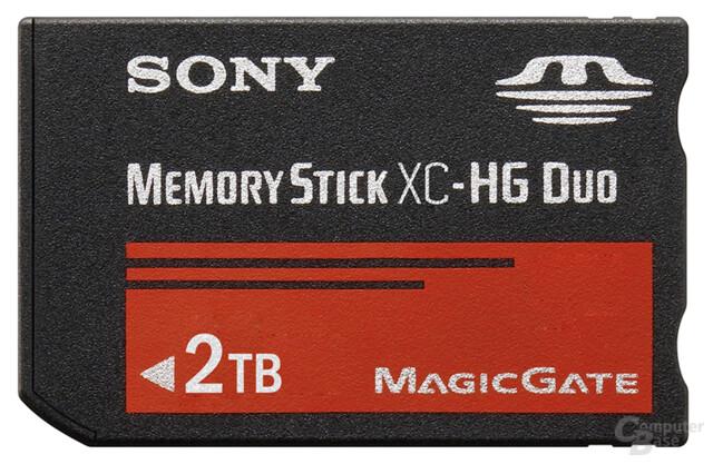 Memory Stick XC-HG Duo, 2 TB