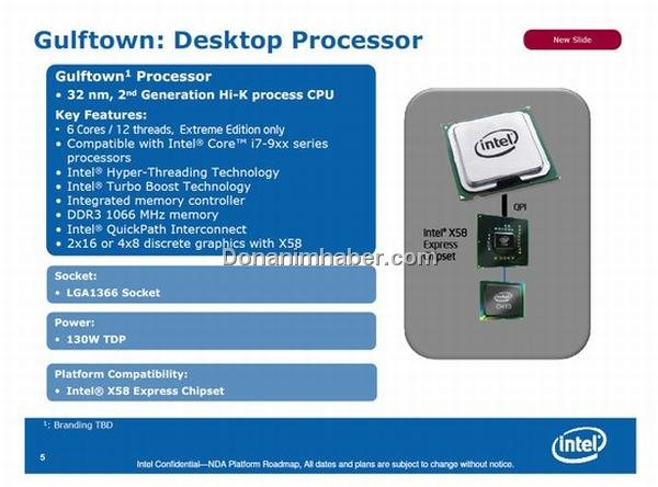"Intel ""Gulftown"""