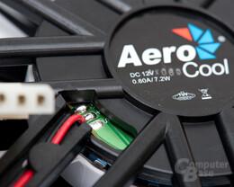Aerocool V-Touch Pro – Lüfterdetail