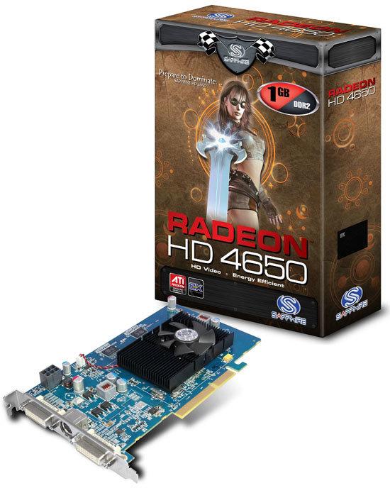 Sapphire Radeon HD 4650 für AGP