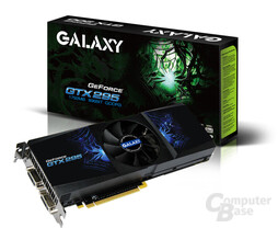 Galaxy GeForce GTX 295 Over-clock