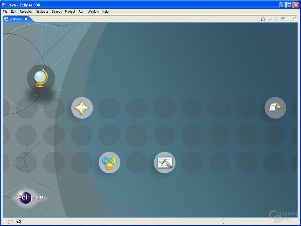 Welcome Screen on Windows XP