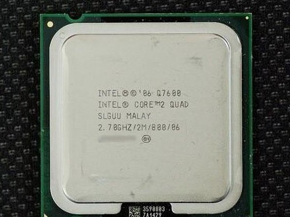 Intel Core 2 Quad Q7600