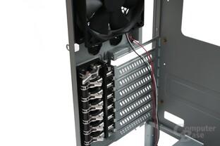 Lancool K58 – mechanische Halterung