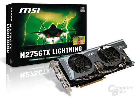 MSI N275GTX Lightning