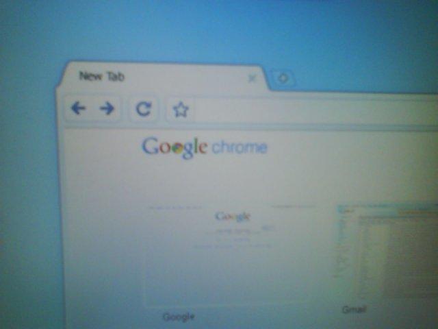 Erste Bilder von Chrome OS?