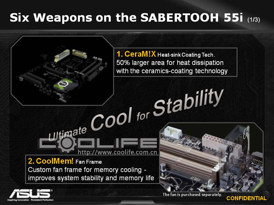 Asus TUF-Series: Sabertooth 55i