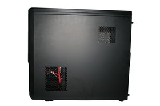 Xigmatek Midgard – Lufteinlässe (HDD und CPU)