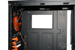 Xigmatek Midgard – Vorbereitung für CPU-Kühler mit Backplatte