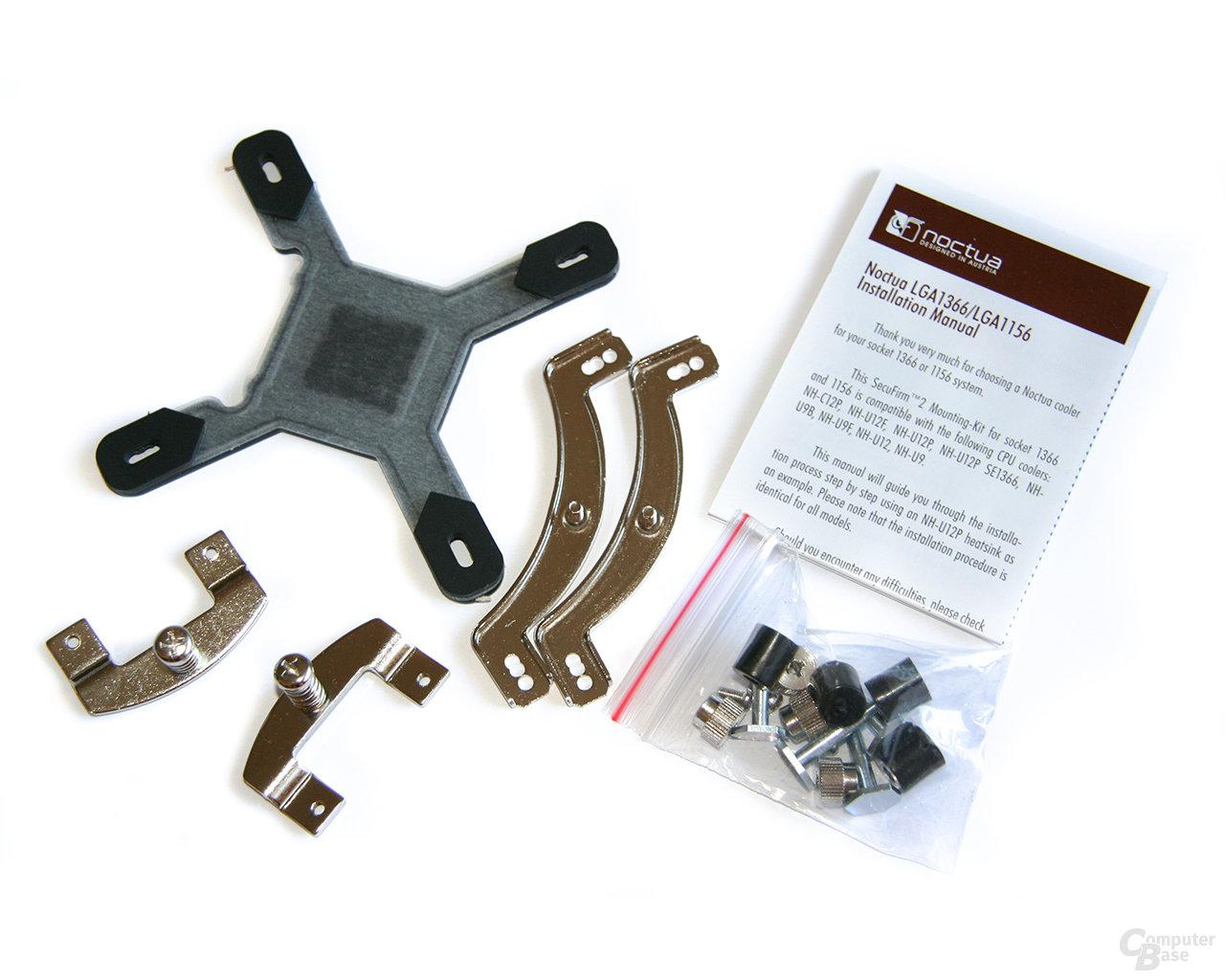 Mounting-Kit von Noctua für Sockel LGA1156/1366