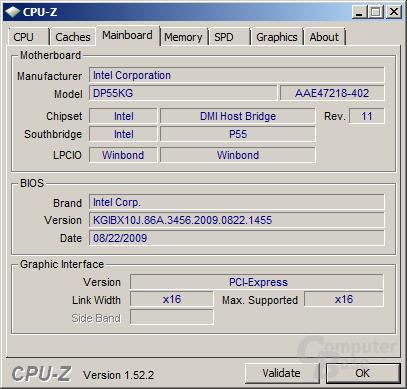Intel-Mainboard