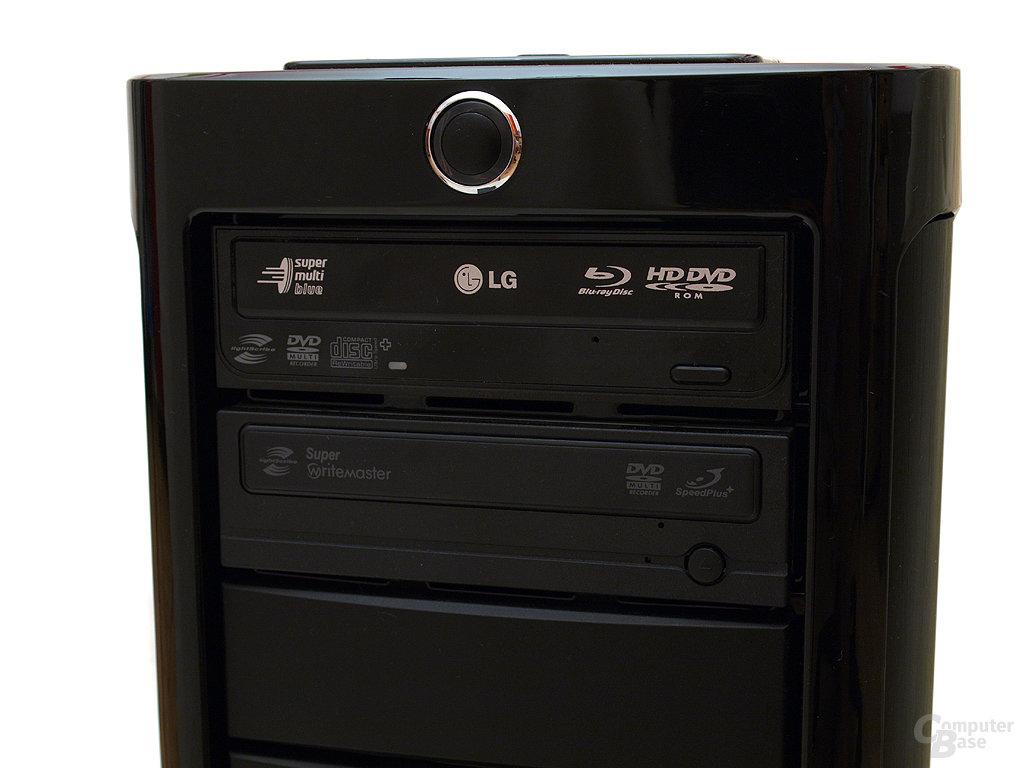 Blue-Ray-Combolaufwerk von LG und DVD-Brenner von Samsung