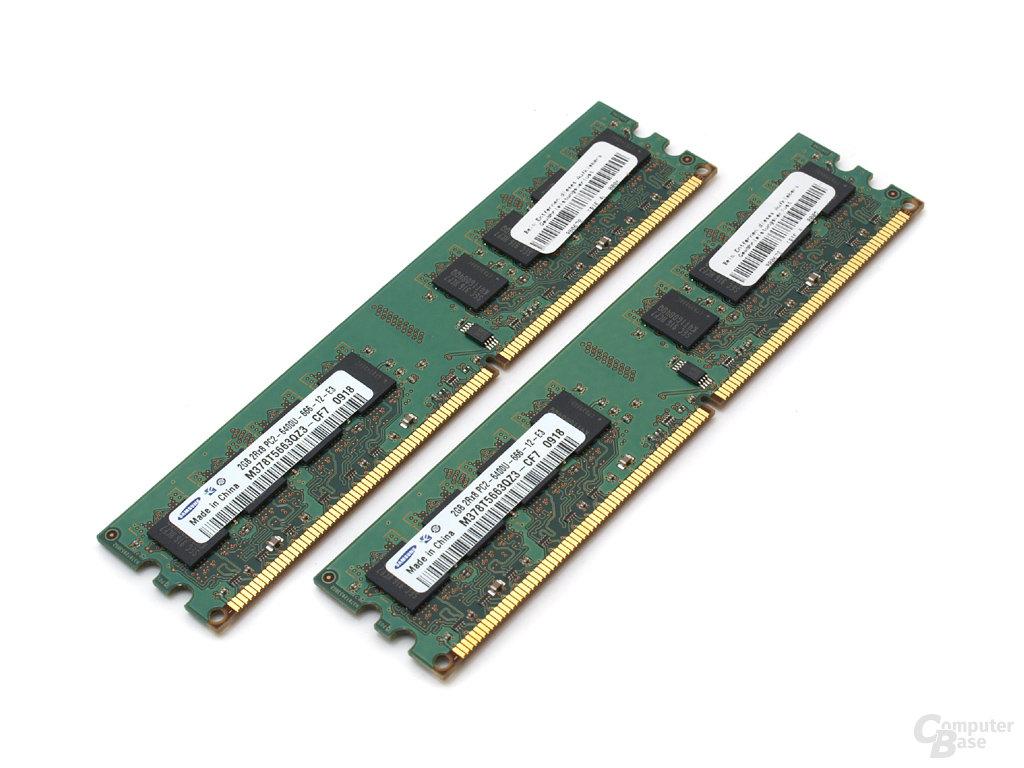 Marken-DDR2-Speicher von Samsung