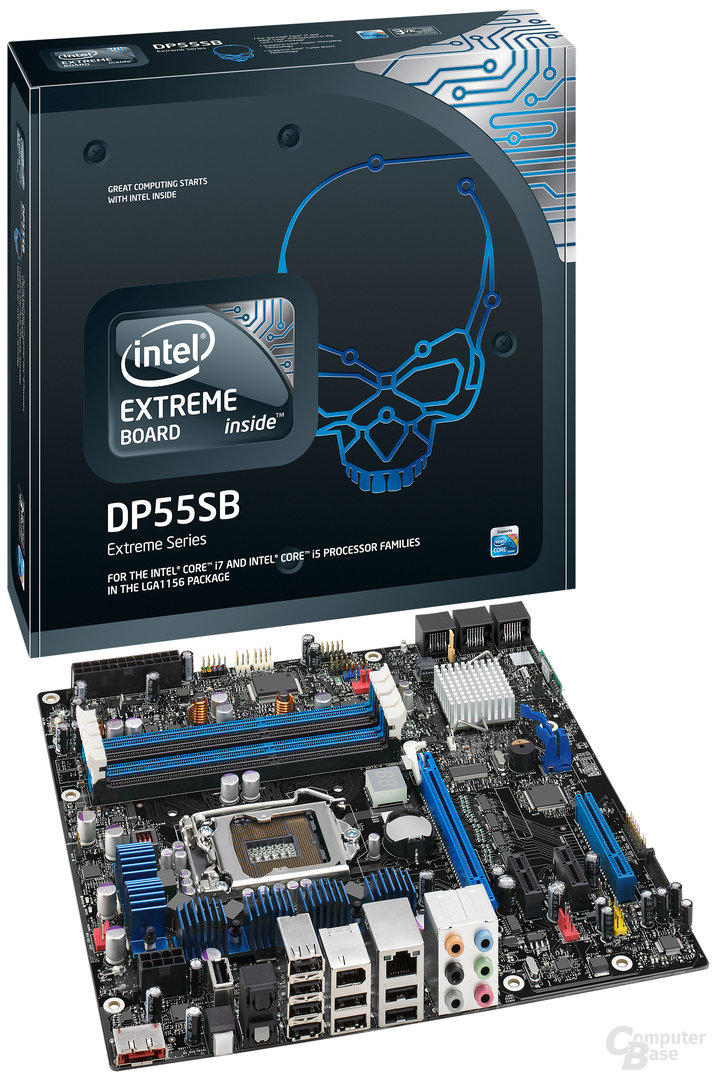 Intel DP55SB (Sharpsburg)