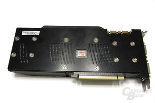 GeForce GTX 285 Matrix Rückseite