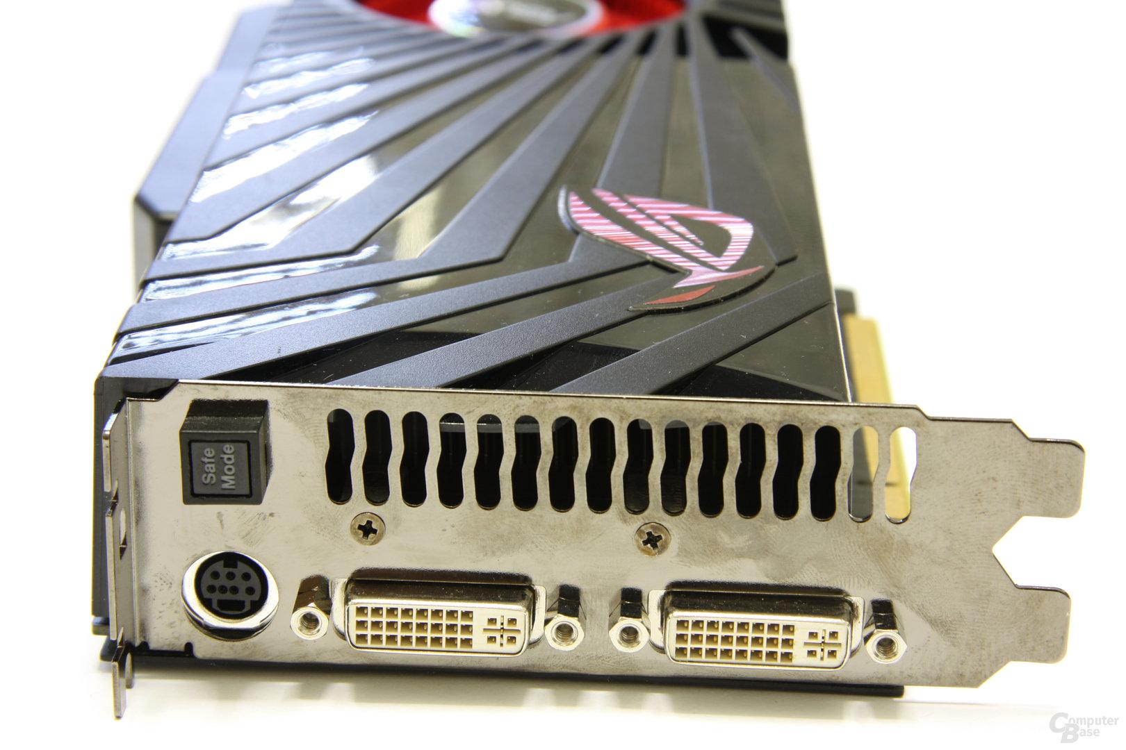 GeForce GTX 285 Matrix Slotblech