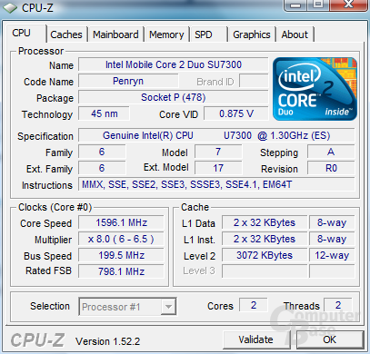 Samsung X-Series Core 2 Duo SU7300