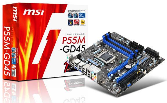 MSI P55M-GD45