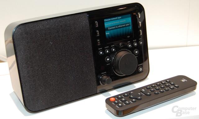 Logitech Squeezbox auf der IFA 2009