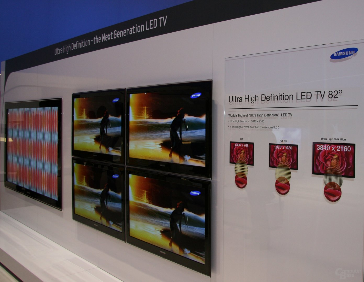 "World's Highest ""Ultra High Definition"" LED TV von Samsung"