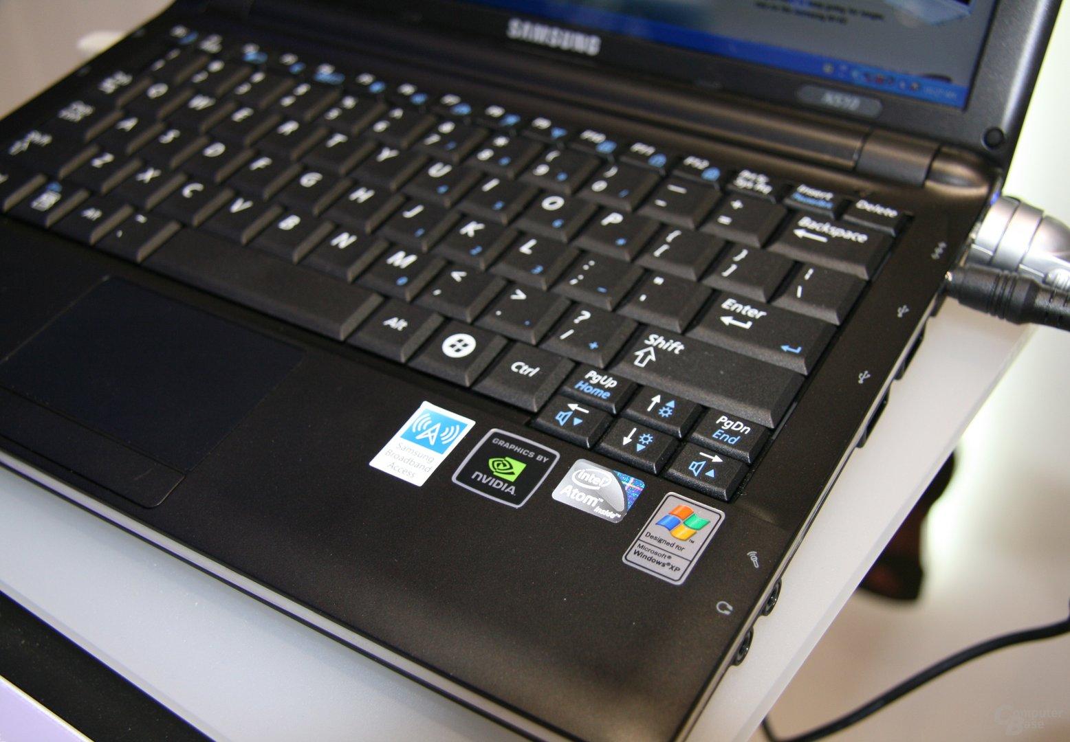 Samsung N510 – 11,6-Zoll-Netbook mit Ion