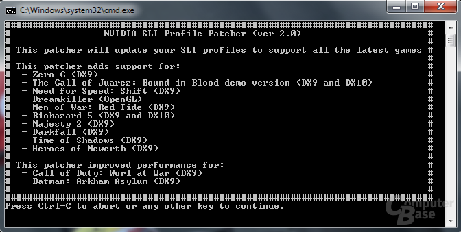 Nvidia SLU Update 2