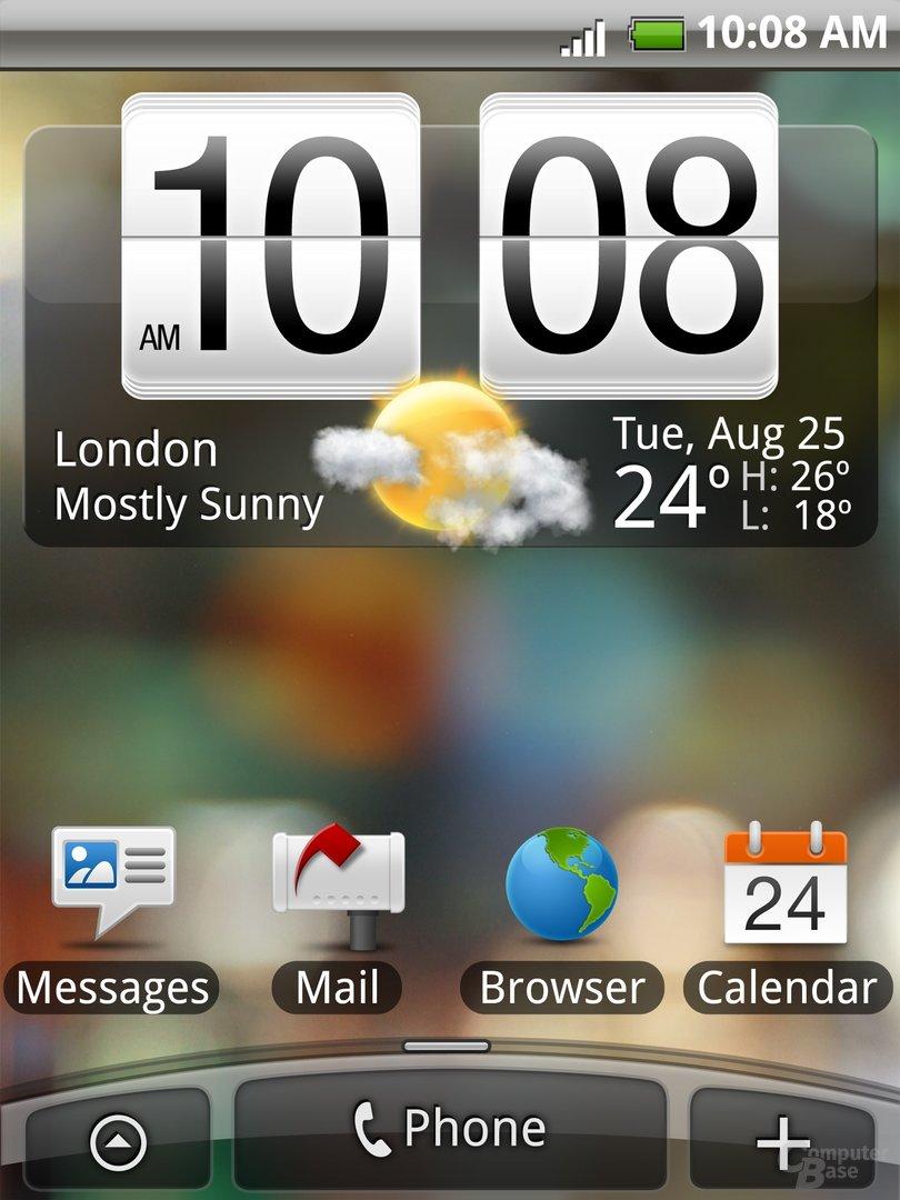 HTC Tattoo mit Android-Betriebssystem