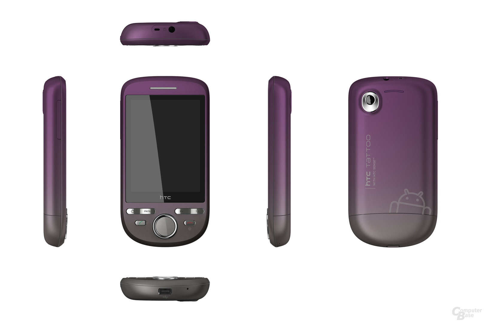 HTC Tattoo Mature Purple
