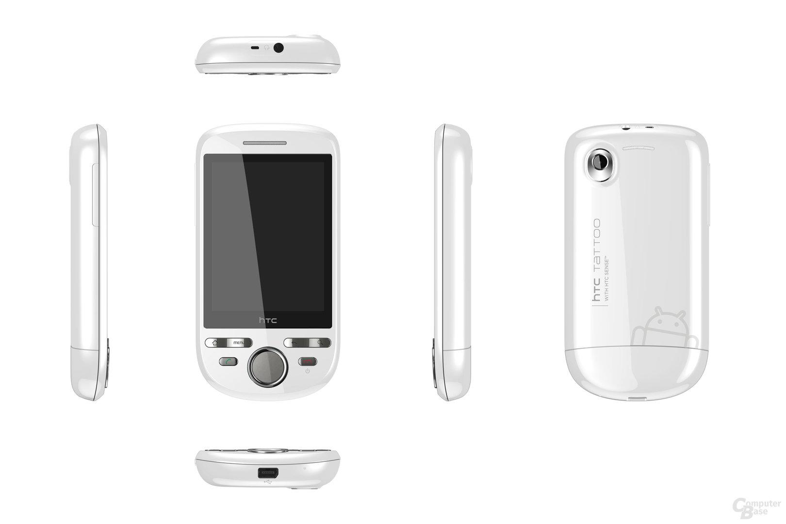 HTC Tattoo Smart White