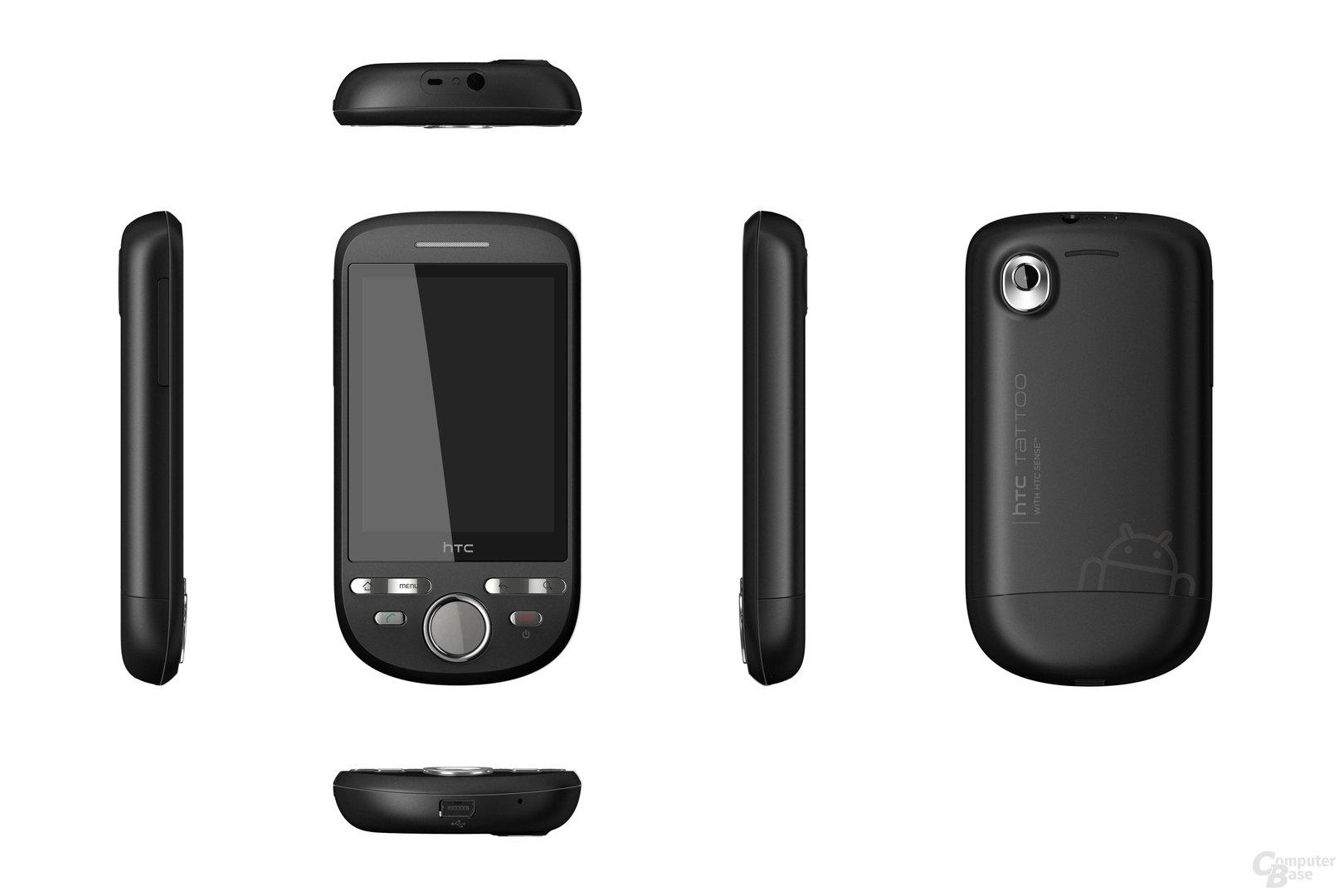 HTC Tattoo SophisticatedBlack