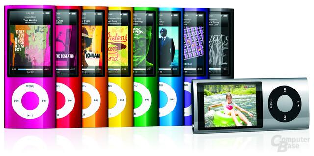 Neuer iPod nano mit Videokamera