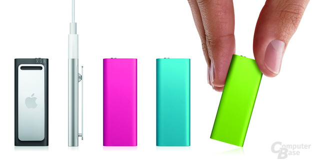 Aktualisierter iPod shuffle