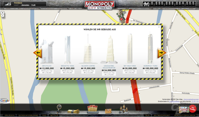 Monopoly CityStreets Gebäude