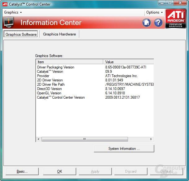 ATi Catalyst 9.9