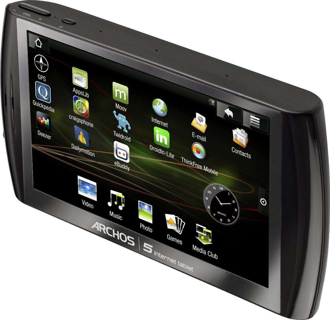 Archos 5 Internet Tablet mit HDD