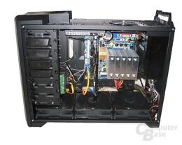Innenraum mit Hardware