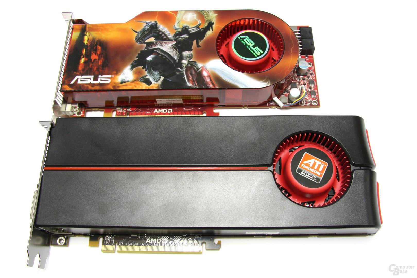 HD 4890 gegen HD 5870