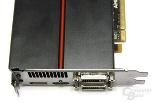 Radeon HD 5870 Anschlüsse