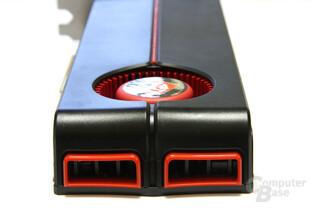 Radeon HD 5870 Auspuff