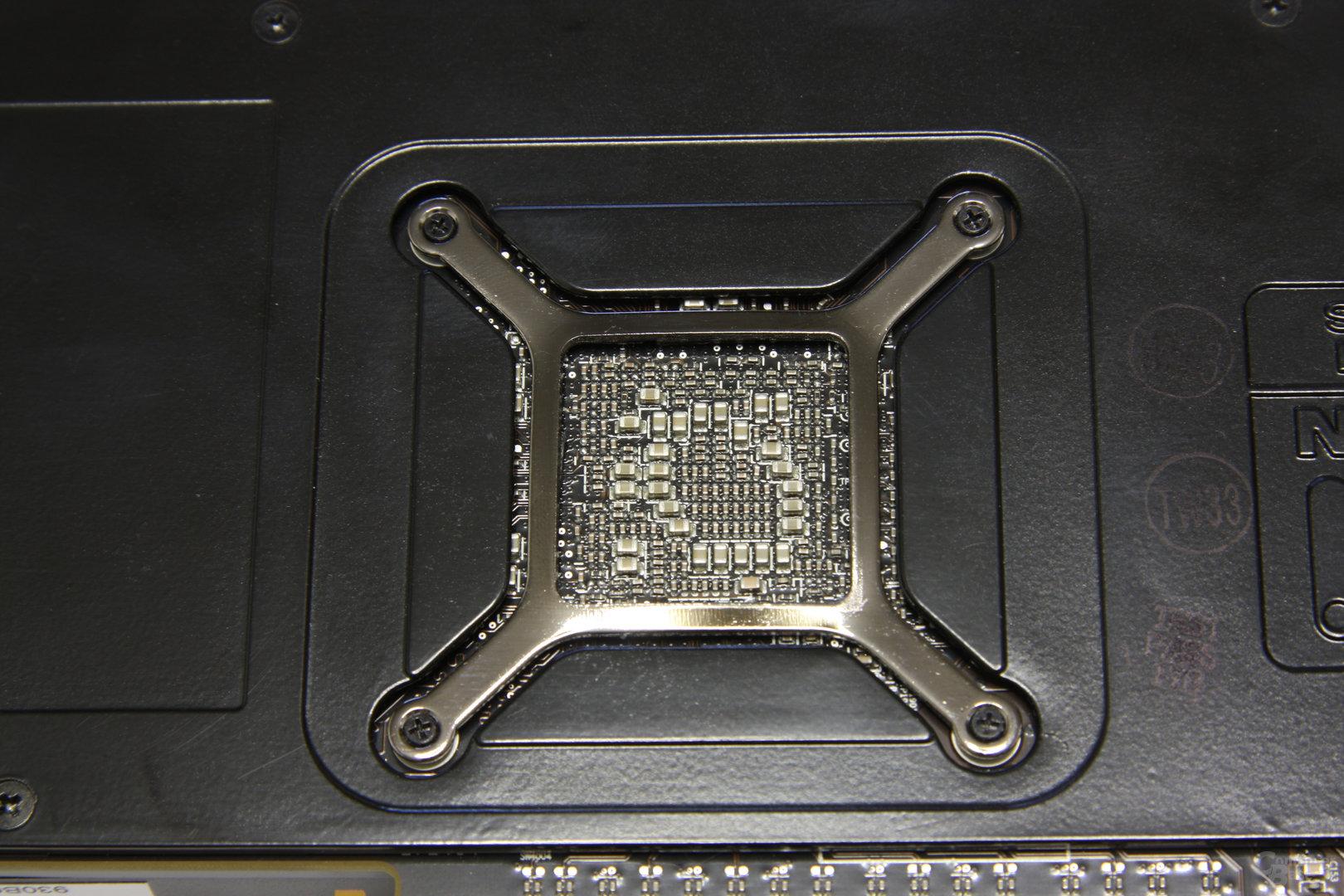 Radeon HD 5870 GPU-Rückseite