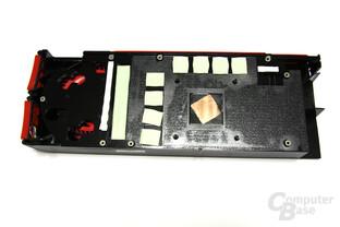 Radeon HD 5870 Kühlerrückseite