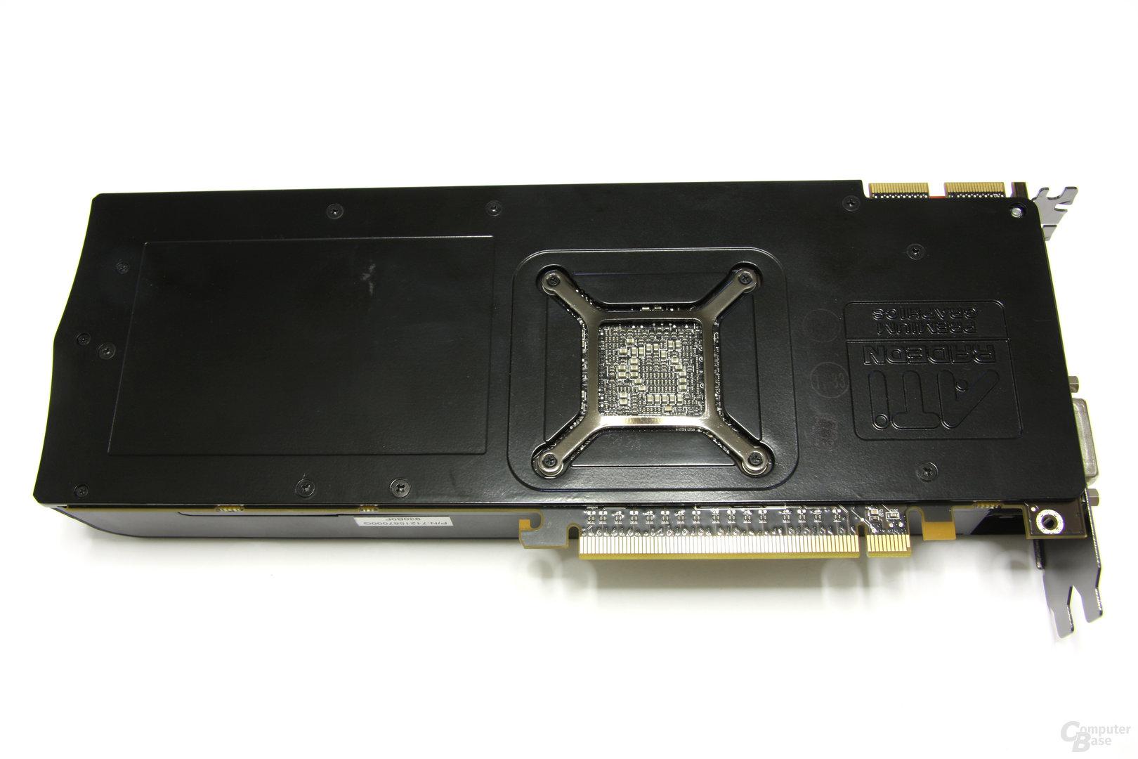 Radeon HD 5870 Rückseite
