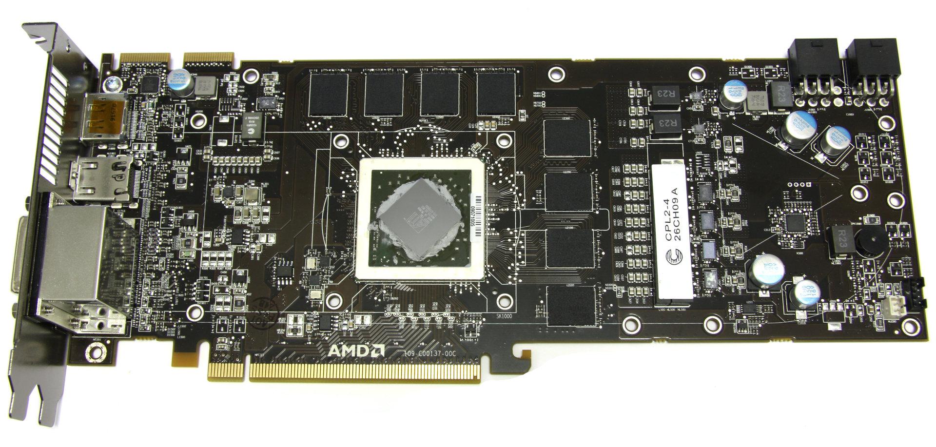 Radeon HD 5870 ohne Kühler